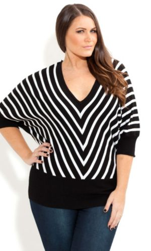 Mono Stripe Jumper