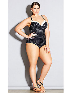 Monaco Underwire One Piece by City Chic