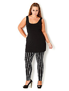 Stripey Legging by City Chic