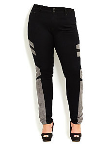 Sexy Moto Skinny Jean by City Chic