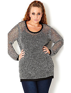 Monotone Jumper by City Chic