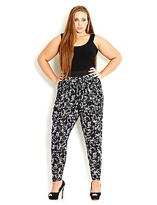 Aztec Harem Pant by City Chic
