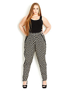 Monotone Harem Pant by City Chic