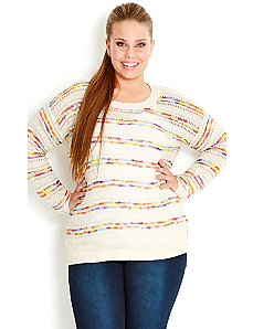 Hypercolor Jumper by City Chic