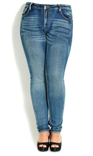 Ocean Girl Skinny Jean