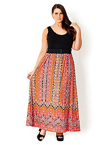 Moroccan Sun Maxi Dress by City Chic