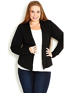 Tuxedo Jacket by City Chic