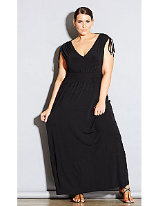 Drapey Maxi Dress by City Chic