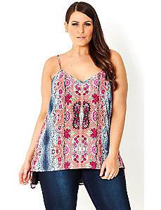 Lace Bloom Top by City Chic