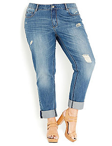 Boyfriend Jean by City Chic