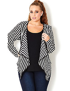 Super Stripe Jacket by City Chic