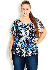 Blossom Dream Top by City Chic