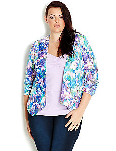 Monet Garden Jacket by City Chic