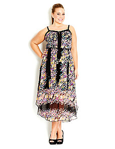 Miss Bouquet Maxi Dress by City Chic