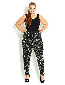 Crane Harem Pant by City Chic