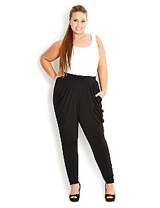 Basic Harem Pant by City Chic