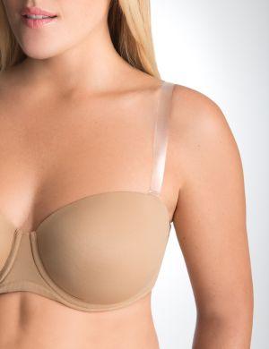 "Clear 5/8"" bra straps"