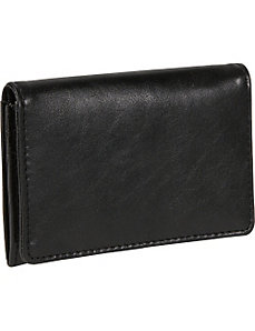 Distressed Leather Credit Card Case by Budd Leather
