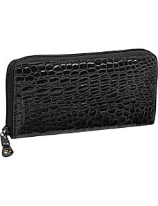 Crocodile Bidente Large Clutch Organizer