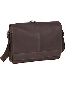 Columbian Leather Messenger Bag by Kenneth Cole Reaction Business and Luggage