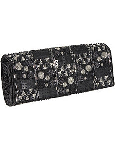 Linz Beaded Clutch by Inge Christopher