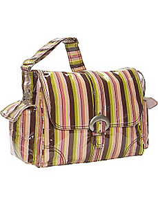 Laminated Buckle Diaper Bag by Kalencom