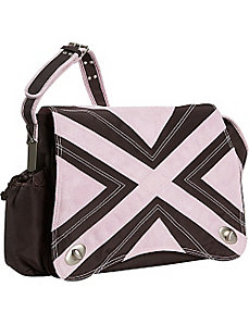 Hannah's Messenger Diaper Bag by Kalencom