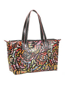 Stepping Out Top Zip Tote by Sydney Love
