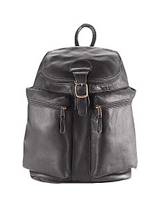 Zip-Top Backpack by Clava