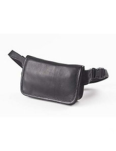 Vachetta Leather Wallet on a Waist