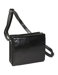 Full Flap Organizer Bag by Derek Alexander Leather