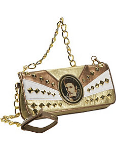 Elvis Tri-Color Clutch Bag