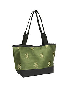Baby Bag Tote Dragonfly Jade by Sally Spicer