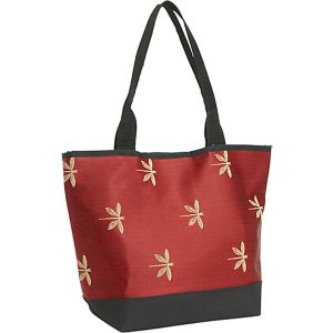 Signature Tote Dragonfly Garnet