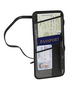 Hanging Security Passport Case by Royce Leather