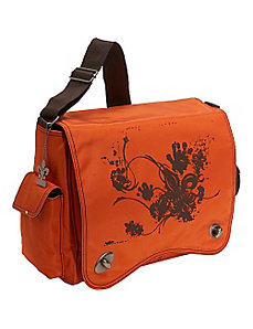 Messenger Screened Diaper Bag by Kalencom