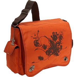 Messenger Screened Diaper Bag