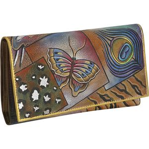 Multi Pocket Wallet/Clutch-Collage