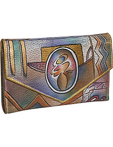 Checkbook Wallet-Abstract Classic by Anuschka