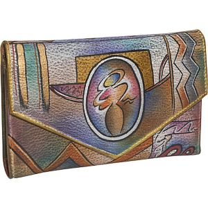Checkbook Wallet-Abstract Classic