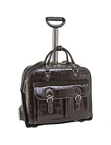 Monterosso Collection San Martino Ladies Wheeled Laptop Case by Siamod