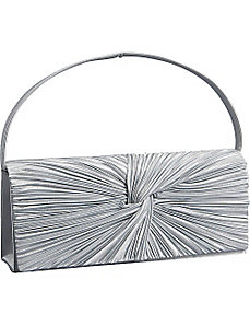Satin Flap Clutch by J. Furmani