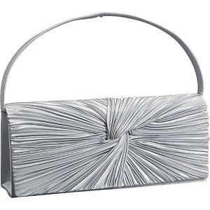 Satin Flap Clutch