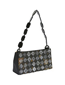 Rough Diamand Horn Bag by Global Elements