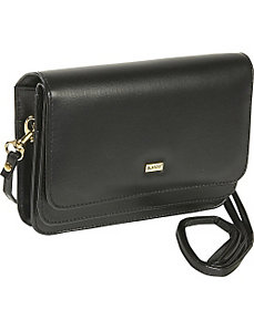 Double-Flap Mini-Bag with Total Wallet Organization by Buxton