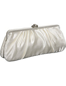 Large Satin Clutch