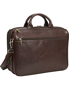 The Ultimate Laptop Traveler by Dr. Koffer Fine Leather Accessories