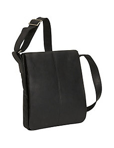 Small Vertical Messenger Bag by David King & Co.