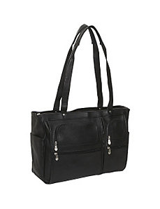 Womens Multipocket Briefcase by David King & Co.