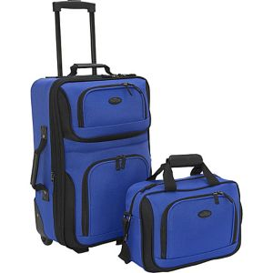 Rio 2-Piece Lightweight Carry-On Luggage Set